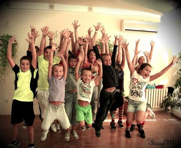 танцы для детей в Новороссийске, детские танцы